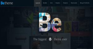 BeTheme Theme, Responsive WordPress Theme