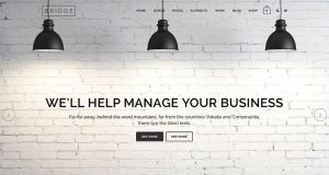Bridge WordPress Theme, Creative WordPress Theme