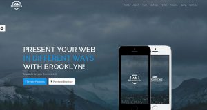 Brooklyn WordPress Theme, Creative WordPress Theme
