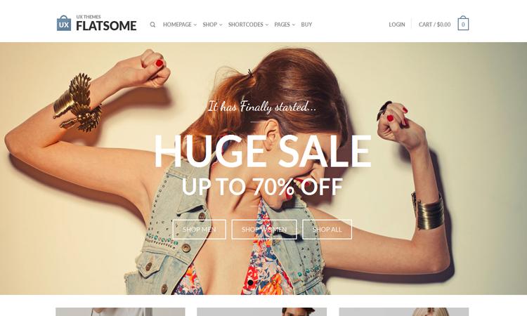 Flatsome WooCommerce Theme, Responsive Themes