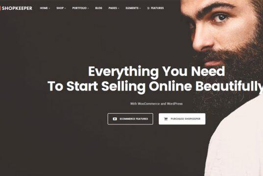 Shopkeeper, Shopkeeper Theme, Responsive WordPress Theme