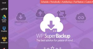 Super Backup, WordPress Plugin, WordPress Clone