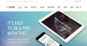The7 WordPress Theme, Responsive WordPress Theme