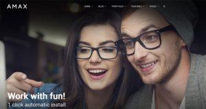 Amax, Amax WordPress Theme, WordPress Theme