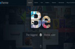 BeTheme Theme, Responsive WordPress Theme