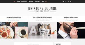 Brixton WordPress Theme, WordPress Blog Theme, Blog Theme