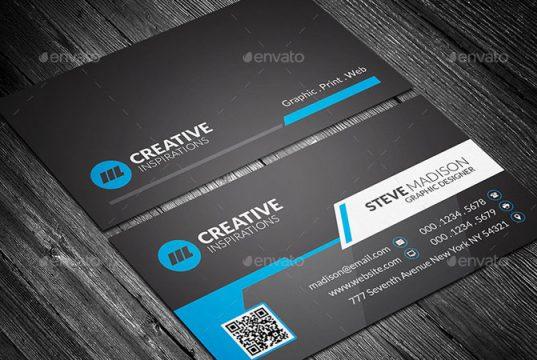 Creative Business Card, Modern Business Card, Business Card