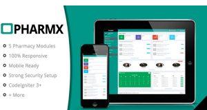 PHARMX, Codeigniter Plugin, Data Management System