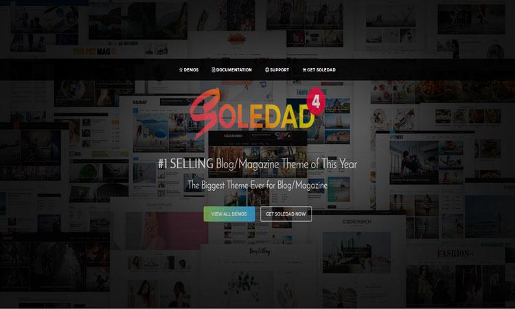 Soledad WordPress Theme, Magazine WordPress Theme, Multi-Concept WordPress Theme