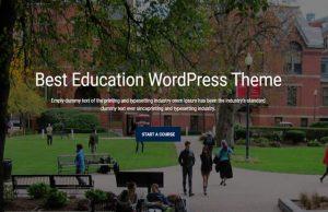 Best Online WordPress Themes, Online Course WordPress Themes, Online Course Themes