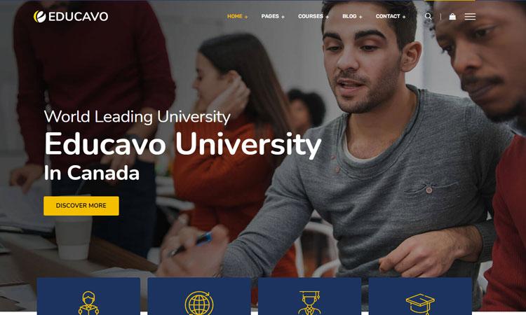 Educavo WordPress Theme, Education WordPress Theme, Education Theme